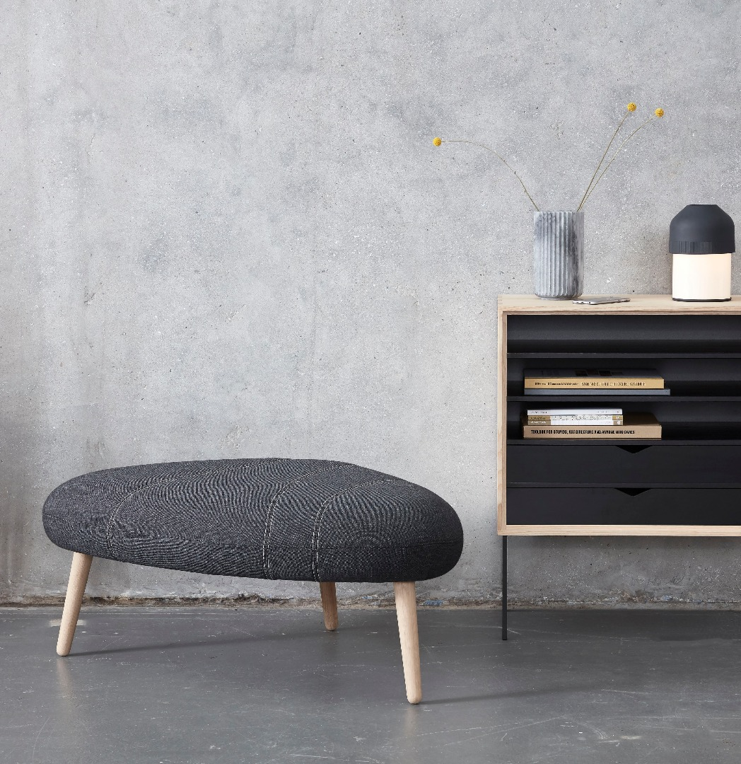 pebble - stool and pouf