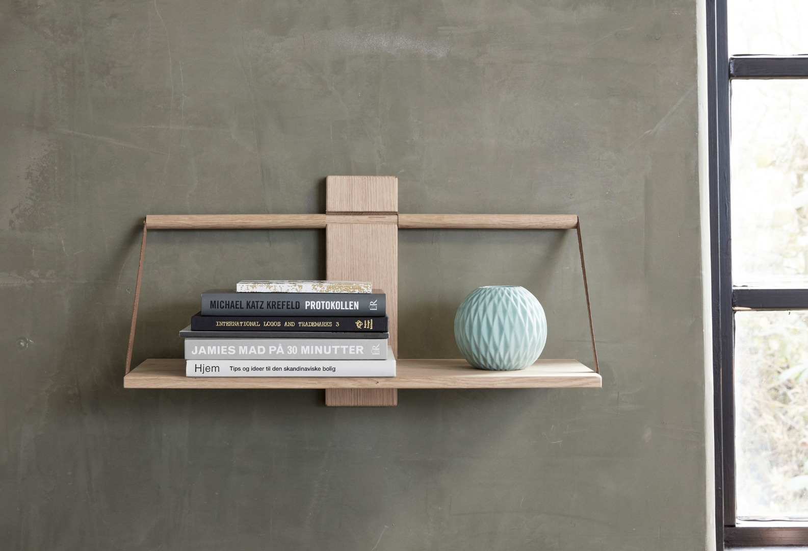 Wood Wall Shelf